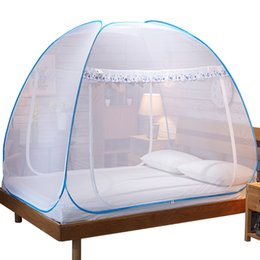$enCountryForm.capitalKeyWord Australia - Simple Style Mosquito Net Encryption Yarn Tent Insect Reject Bed Canopy For Sigle Double Bed,Bi-parting Mongolian Yurt Mosquito