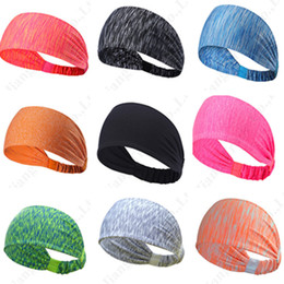 sport hairbands Australia - Under U&A Brand Athletic Head Band Elastic Hairbands Women Girls Armor Yoga Sport Headwrap Sweaty Hair Bandana Pony Tail Scrunchies C110401