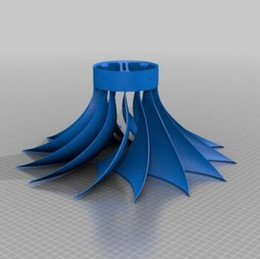 rotary print UK - Rotary blade lampshade Custom order high quality high precision digital models 3D printing service Artistic things ST2532
