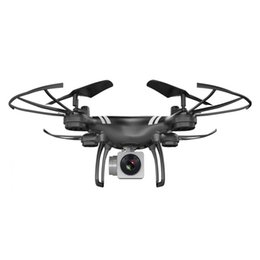 Helicopters Toys Camera Australia - RC 720P HD Camera Drone With 0.3MP Camera Wifi FPV Quadcopter Altitude Hold Headless Mode RC Helicopter 2.4GHz Drones Toy Gift