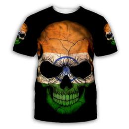 $enCountryForm.capitalKeyWord Australia - PLstar Cosmos Skull 3D Print Hoodie Sweatshirt Jacket shirts Mens for Womens Tees hip hop apparel casual tops