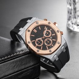 $enCountryForm.capitalKeyWord Australia - Wholesale Cheap Price Mens Luxury Sport Wrist Watch 45mm Quartz Movement Male Time Clock Watch with Rubber Band offshore