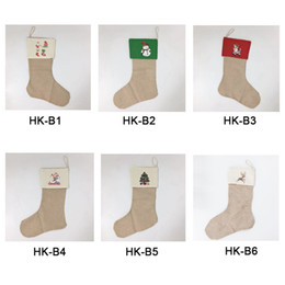 $enCountryForm.capitalKeyWord Australia - Christmas Stocking Christmas Haning Canvas Candsy Bags Tree Ornament Socks Xmas Stocking Home Party Decorative Items