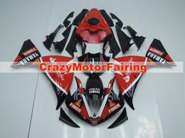 $enCountryForm.capitalKeyWord Australia - High quality New ABS Molding motorcycle Fairings Kits Fit For YAMAHA YZF-R1-1000 2009 2010 2011 09 10 11 Fairing bodywork set red black