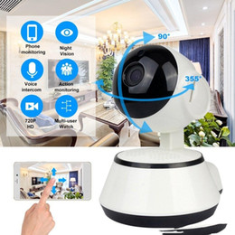 video security camera systems Canada - Wifi IP Camera Surveillance 720P HD Night Vision Two Way Audio Wireless Video CCTV Camera Baby Monitor Home Security System