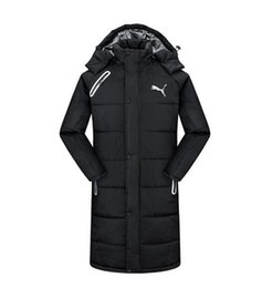 $enCountryForm.capitalKeyWord Australia - New fashion men women hooded cotton jacket thicken warm coats cotton-padded clothes winter unisex down jacket long coat LL2006