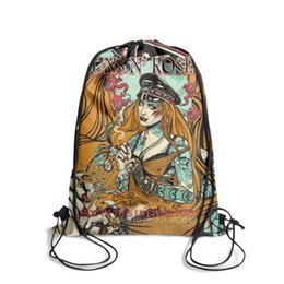 $enCountryForm.capitalKeyWord Australia - Guns-Sin-Not-in-ThisFashion sports belt backpack, design pop pattern reusable string package, suitable for sports