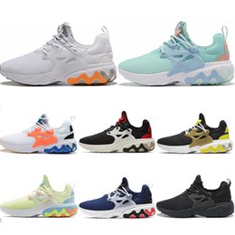 tropical light Canada - hot Dharma Witness Protection React Presto Men Women Running Shoes Tropical Drinks Hyper Royal Breezy Thursday Black White sports sneakers