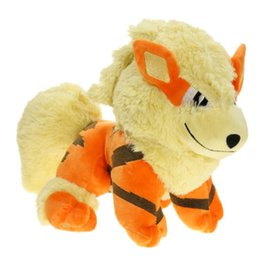 $enCountryForm.capitalKeyWord Canada - New Arcanine Soft Toy Plush Doll Collection For Kids Holiday Best Gift ( 2pcs Lot - Size: 25cm )