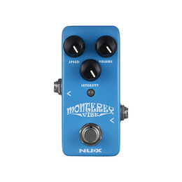 Usb Pedals Australia - NUX NCH-1 Monterey Vibe Guitar Effect Pedal Mix of Chorus Rotary Speaker Phaser Effects Metal True Bypass with micro USB port