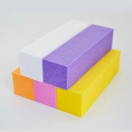 White Sanding Block Australia - block contact Sanding Gel Polish Files Buffer Block File Nail Polishing Tools for Manicure White Form Nail File Buffers ZJC008