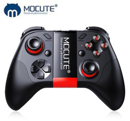 Bluetooth Wireless Joystick Gamepad NZ - MOCUTE 054 Wireless Bluetooth Remote Controll Gamepad VR 3D Glasses Joystick Android IOS PC Mobile Phone Game Controller TV Box Game Console