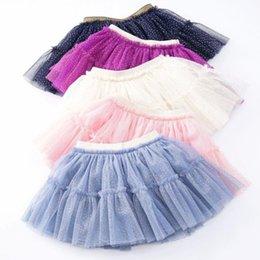 733695e0a Tutus Cheap Wholesale UK - Girls TuTu Skirts Toddler baby girl skirt tutu  Holiday christmas skirts