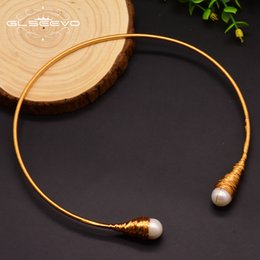 $enCountryForm.capitalKeyWord Australia - Glseevo Natural Fresh Water Baroque Pearl Chokers Necklace For Women Necklaces Luxury Fine Jewelry Collar Hombre Colar Gn0048 J190718