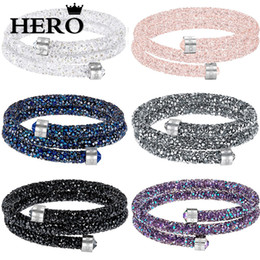 Ring Mail Australia - HERO Original High QualitySWA Multi-Color Double Ring Bracelet With Logo Mail
