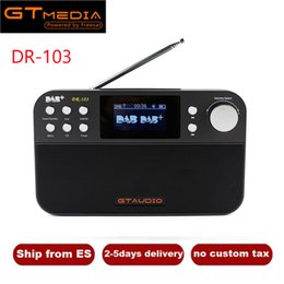 $enCountryForm.capitalKeyWord NZ - Portable Radio GTMedia DR-103B Digital FM Radio DAB+Radio Stero For UK EU With Bluetooth Built-in Loudspeaker Support TF Card