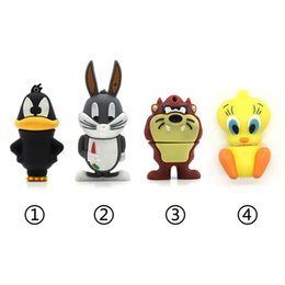 $enCountryForm.capitalKeyWord Australia - New Style Cute Cat Pen Duck Usb Flash 64g 32g 16g 8g 4g Cartoon Animal Pendrive Usb2.0 Memory Stick Rabbit U Drive