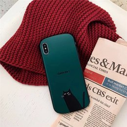 Cute Cat iphone online shopping - New Design Cute Cat Phone Case For iPhone X XR XS MAX TPU Case For iPhone Plus