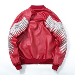 $enCountryForm.capitalKeyWord UK - New Spring Zipper Pilot Bomber Jackets Coats Fashion Streetwear Hip Hop European Design Gold Wing Embroidery Jacket Men