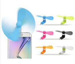 micro fans Australia - Mini Cool Micro USB Fan Mobile Phone USB Fan Cell phone For type-c micro USB iPhone x