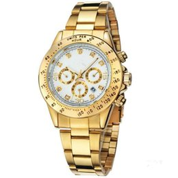 $enCountryForm.capitalKeyWord UK - relogio masculino mens watches Luxury dress designer fashion Black Dial Calendar gold Bracelet Folding Clasp Master Male 1012 gifts couples