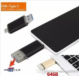 Color Flash Drive Australia - Design USB 3.0 OTG Dual Micro USB Flash Pen Thumb Drive Memory Stick for Phone PC mixed color