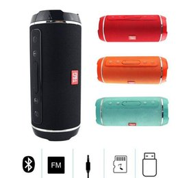 $enCountryForm.capitalKeyWord Australia - TG116 Double Horn Cloth Net Bluetooth Wireless Speaker Mini Portable Speaker Support TF Card Hand-free Mic Stereo For Mobile Phone 2019