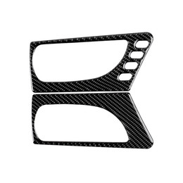$enCountryForm.capitalKeyWord UK - Fashion Design Carbon Fiber Car Front Door Handle Decoration Car Sticker 3D for Lexus IS250 300H Auto Interior Car Styling Accessories