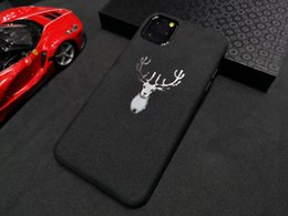 car logo cases Australia - Turn Fur Leather Metal Sport Car Logo Case For iPhone 11 Pro Max XS Max XR 8 7 6S Samsung Note10 Plus S10