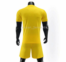 football club sale UK - New arrive Blank soccer jersey #908#-4 customize Hot Sale Quick Drying T-shirt Club or Team jersey Contact me uniforms football shirts