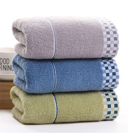 $enCountryForm.capitalKeyWord NZ - DelCaoFen Face Towel 100% Cotton Towel Terry Absorbent Washcloths Bath Salon Home Use Hot Sale Custom Your Logo
