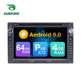 Vw Stereos Android Australia - Android 9.0 Core PX6 A72 Ram 4G Rom 64G Car DVD GPS Multimedia Player Car Stereo For VW Passat B5 Golf 4 Polo Bora Jetta Radio Headunit