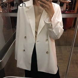 $enCountryForm.capitalKeyWord Australia - Gagarich Solid Women Blazers 2019 Flavor Chic Vintage Loose Small Coat Female Spring 2019 New Korean Casual Office Lady Tops MX190809
