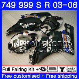 Dark blue matte online shopping - Body For DUCATI S S Bodywork HM Matte black S R R R Fairing kit
