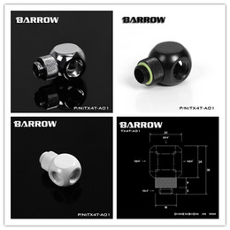 "$enCountryForm.capitalKeyWord Australia - Barrow G1 4 ""X4 White Black silver Extension 360 rotation 4 Way cubic Adaptor Computer build cooler fittings ,TX4T-A01"
