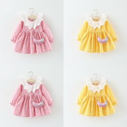 Wholesale 2019 New Hot Toddler Summer Kids Baby Girl Ruffle Lace Princess Dress Formal Party Pageant Dress
