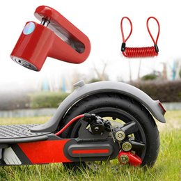 $enCountryForm.capitalKeyWord Australia - M365 Electric Scooter Anti-Theft Wheels Disc Brakes Lock with Steel Wire MTB Cycling Bicycle mountain bike disc lock