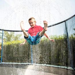 Wholesale Summer Water Sprinkler Trampoline Sprinkler Outdoor Garden Water Games Toy Sprayer Backyard Park Accessories 39 Feet Game