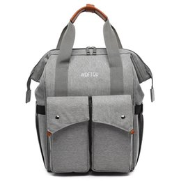 large capacity backpack Australia - 2020 NEW Mummy Bag Multifunction Outdoor Diaper Bags Mother Large Capacity Handbag backpack for Stroller BZT057