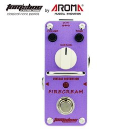 $enCountryForm.capitalKeyWord NZ - AROMA AFM-3 Vintage Distortion Pedal Guitar Effect Firecream Based On The 1st Version EH Big Muff Pedal Rich and Creamy Fuzz Tone