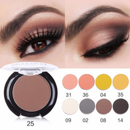 dark brown eyeshadow palette Canada - Color Salon DIY INS Fashion Matte Eye Shadow Palette Makeup Pigment Nude Eyeshadow powder Beauty Make Up Natural Cosmetic 2.7g
