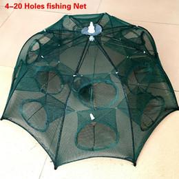 $enCountryForm.capitalKeyWord NZ - Fishing Cast Holes Folding Cage Net Net Folding ANCHEER Crab 4-20 Cast Nylon Foldable Trap Shrimp Network Automatic Fishing Fish