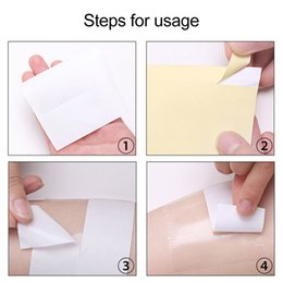 Wholesale 1Roll Disposable Armpit Sweat Pads Absorbing Underarm Antiperspirant Keep Dry Sticker Prevent Deodorant TSLM2