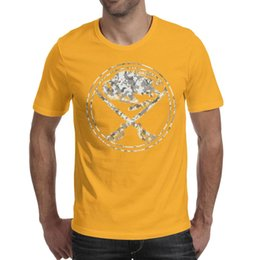 Sports T Shirts Design For Men Australia - Buffalo Sabres Logo Camouflage Men T Shirts Designed Sports Cotton Round Neck Shirts Best Man T Shirt Fashion T Shirts for Man