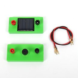 solar power kits 2020 - Solar power experiment kit fun buzzer experiment children's educational toys student science and technology product