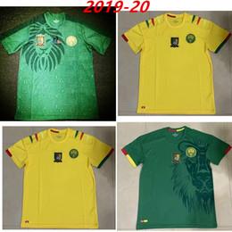 $enCountryForm.capitalKeyWord NZ - 2020 Cameroon Africa Cup Soccer Jersey 19 20 #10 ABOUBAKAR Soccer Uniform Mens 2016 17 ETO O Cameroon Home Green Football Shirt