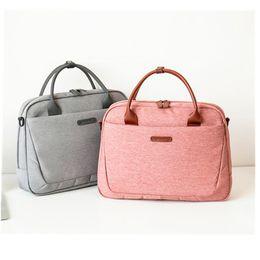 $enCountryForm.capitalKeyWord Australia - 2019 New Women's Briefcase Office Laptop Bags For Ladies Computer Work Shoulder Messenger Business Bag Handbag Men Travel Bags MX190719