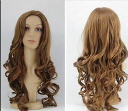 $enCountryForm.capitalKeyWord Australia - WIG Free Shipping Details about Carve wig Korea Beautiful Girls New Wig Brown Long Curly Wigs