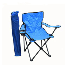 Wholesale Stools Chairs NZ - Wholesale- Fishing chair Portable Camping Stool Folding Chair Packed Seat For Picnic Light Weight FCC001