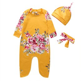 infant robes NZ - 2020 New Baby Sleepers Cotton Pijamas bebe Newborn Baby Girl Boy Clothes robe bebe 3 6 9 12 Month Infant Rompers Clothing 30